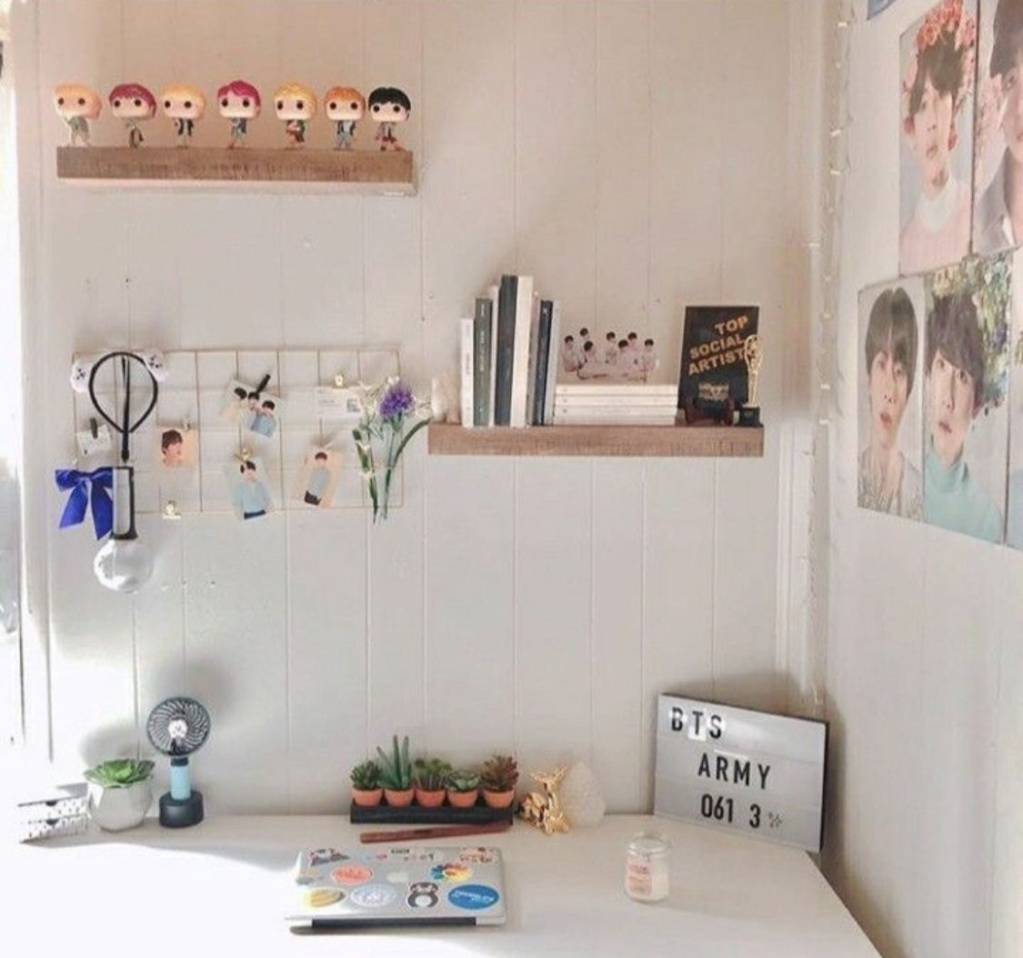 Peachymims Follow Me For More Army Room Decor Bts Room Decor Bts Room Ideas Latest home room decoration