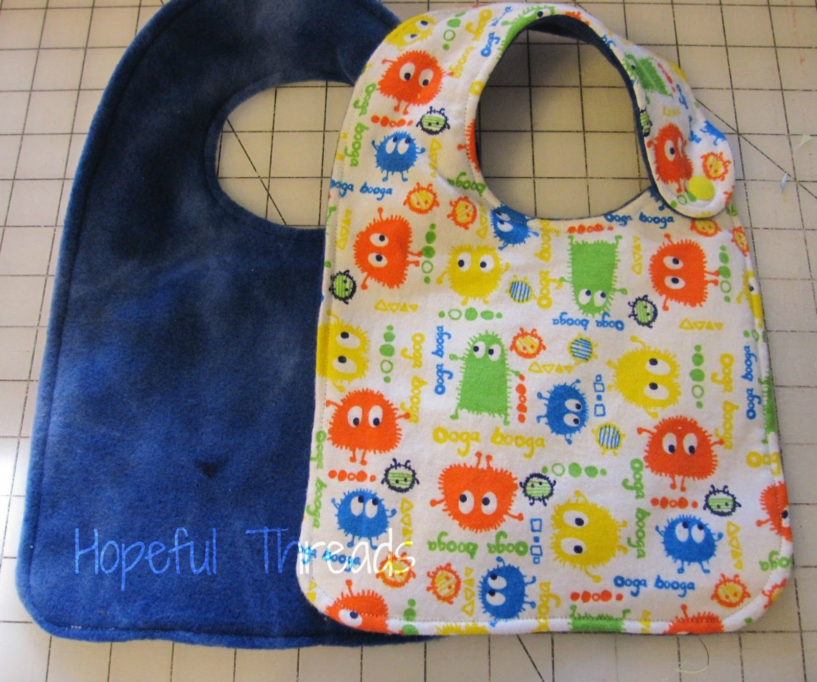 Hopeful Threads: Bibs in ALL Sizes...did you get the FREE pattern ...