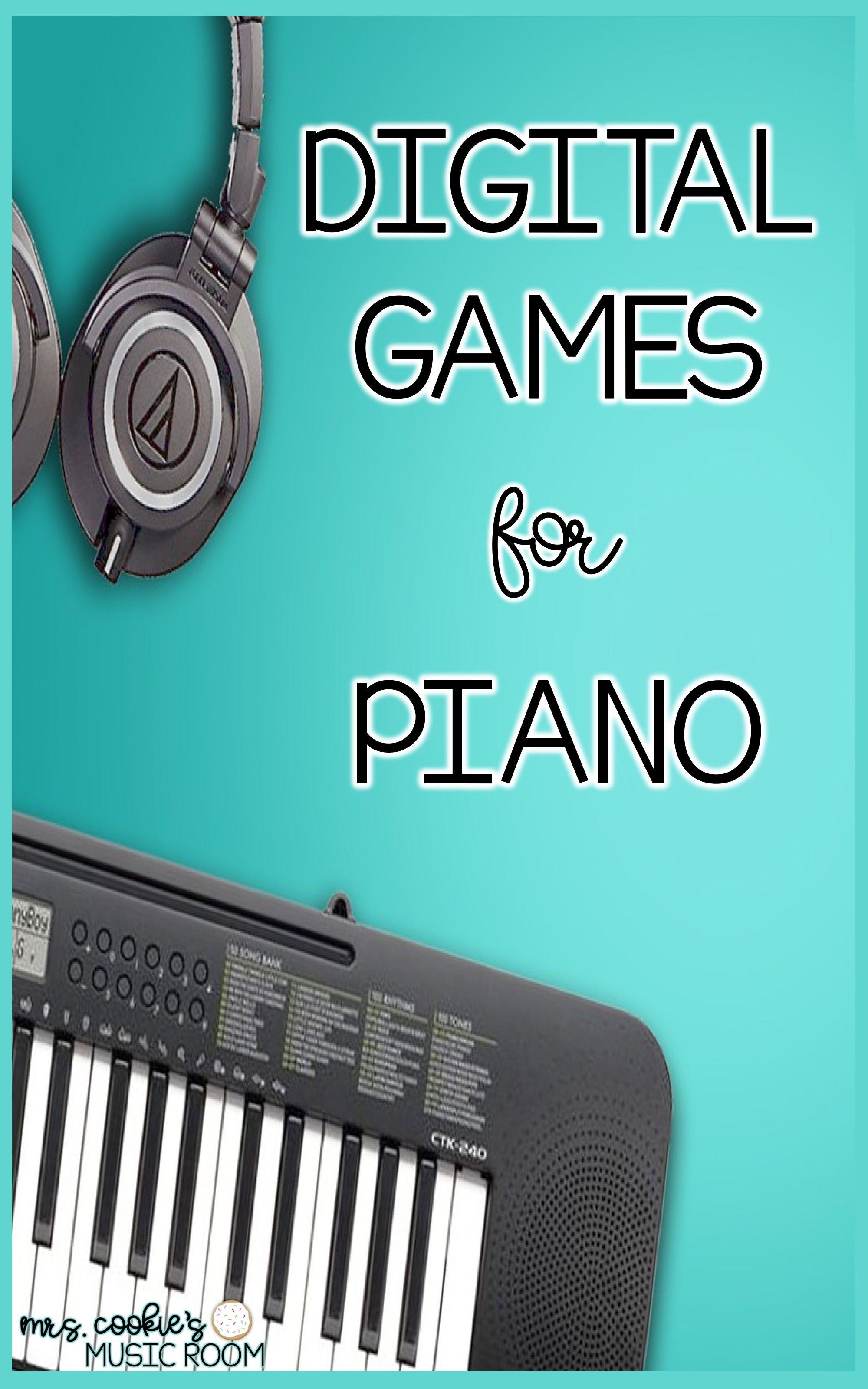 Cookie Jar Digital Games For Piano Teaching Musical Instruments Piano Teaching Teaching Music