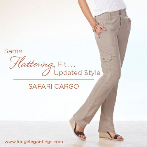 9 DAYS TO GO! Today's preview item from the #SpringCollection is the newly updated Safari Cargo #tallfashion