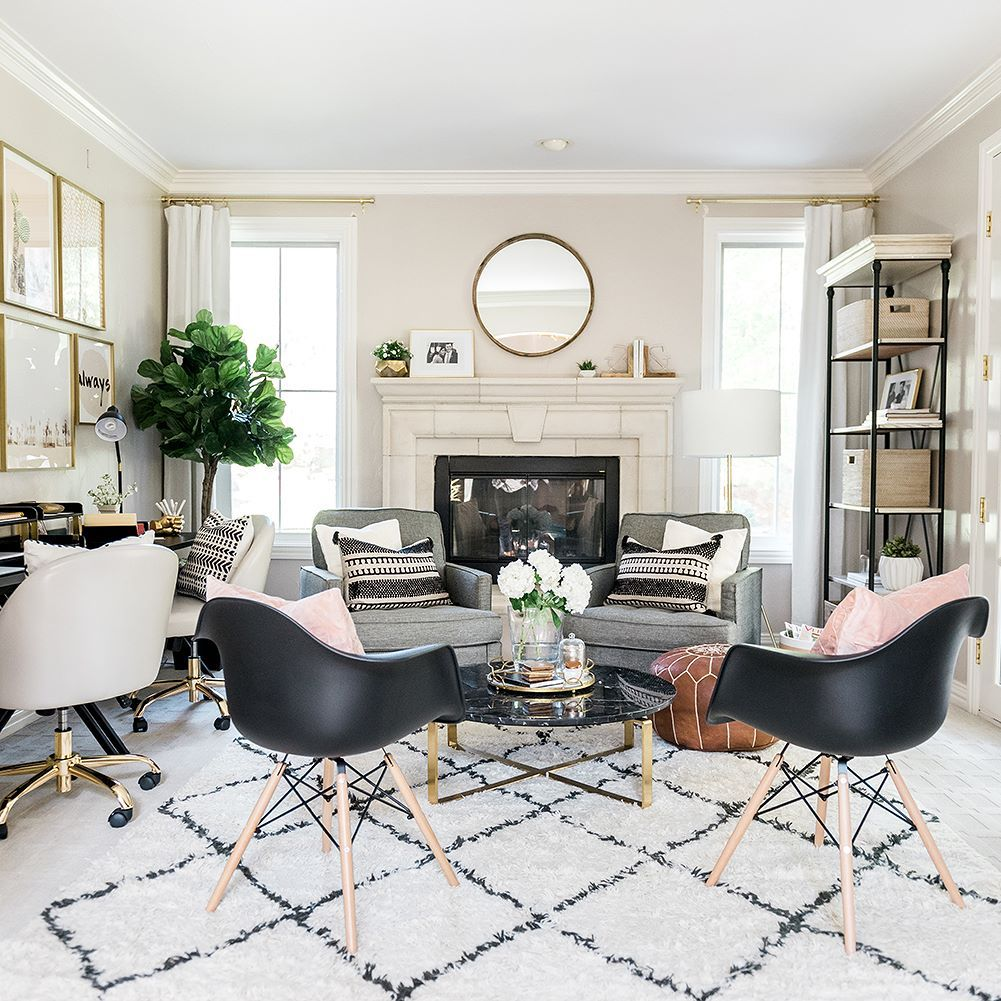 Leilaklewis Transformed Her Once Dining Room Into The Ultimate Home Office For And Husband With Wayfair Is Sharing Space OnIBTtoday