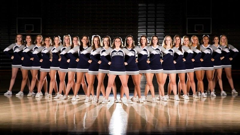 2018 19 Longwood University Cheerleading Cheer Poses