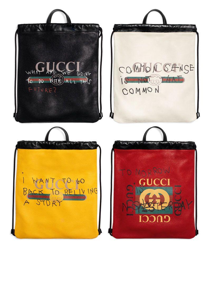 220b411e218b Gucci Collaborates with Artist Coco Capitán | LeatherItems | Gucci ...