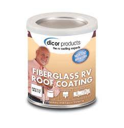Fiberglass Rv Roof Coating 1 Gallon Roof Coating Fiberglass Roof