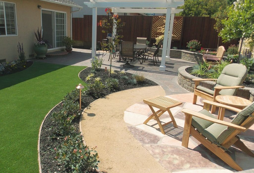 ideas backyard ideas flagstone patio decomposed granite patio