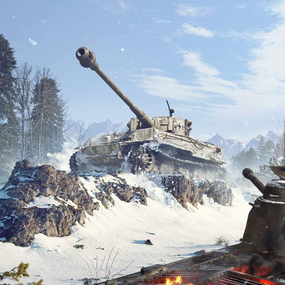 Pin By Lee June Sung On Panzer VI Tiger