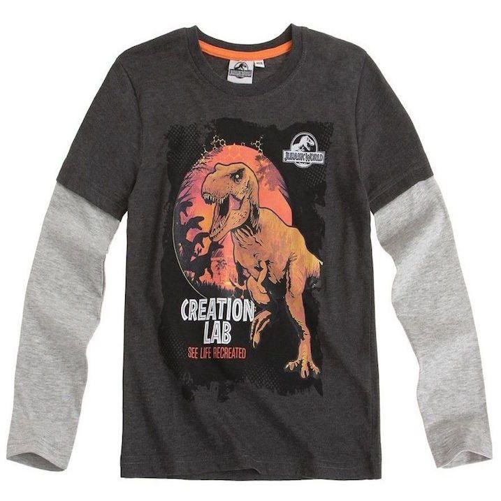 6d0a6c3b64dc Kids Official Jurassic World Dinosaur T Rex Print Long Sleeve T Shirt