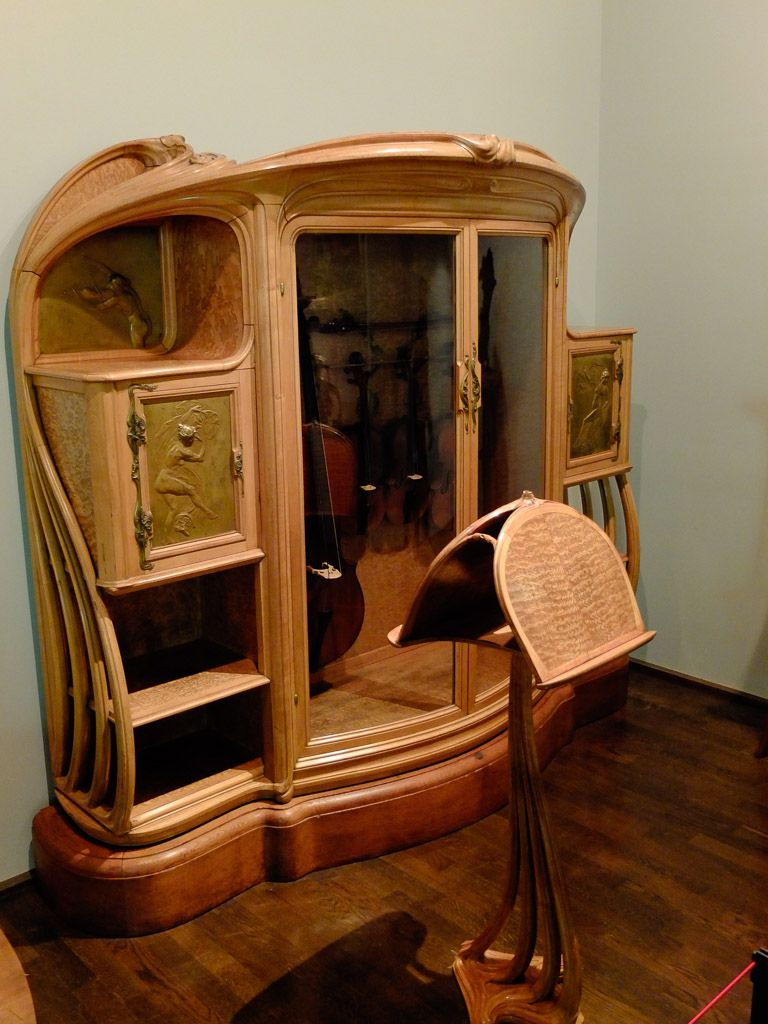 mus e art d co paris mobilier art nouveau art nouveau pinterest jugendstil jugendstil. Black Bedroom Furniture Sets. Home Design Ideas