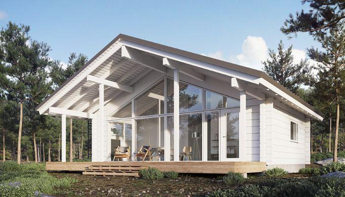 Kits De Maison En Bois Massif De Haute Qualite Honka Maison En Rondins Maisons Exterieures Maison