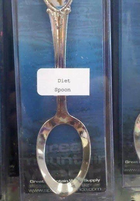 Diet spoon hahahahah