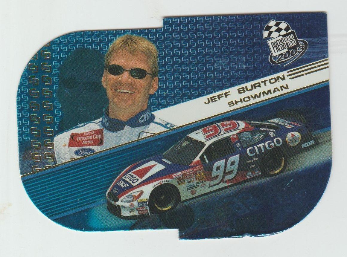 2003 Press Pass Showman #s1a Jeff Burton