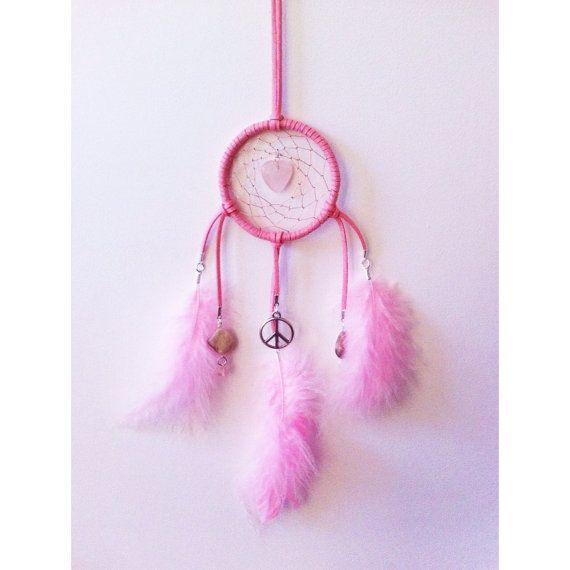 Mini Peace and Love Dreamcatcher