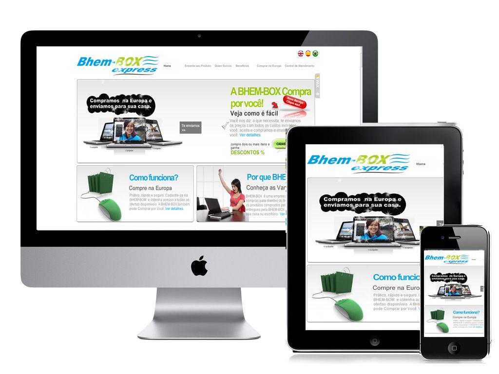 Proyecto completo de web marketing. hecho por Trilia Publi.