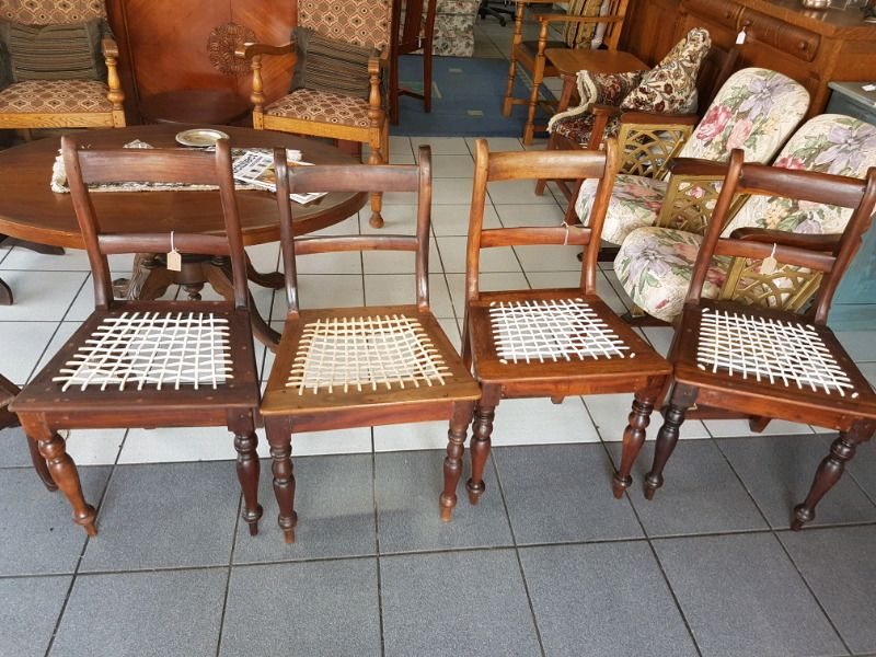4 Stinkwood Chairs Chair Antiques For Sale Decor