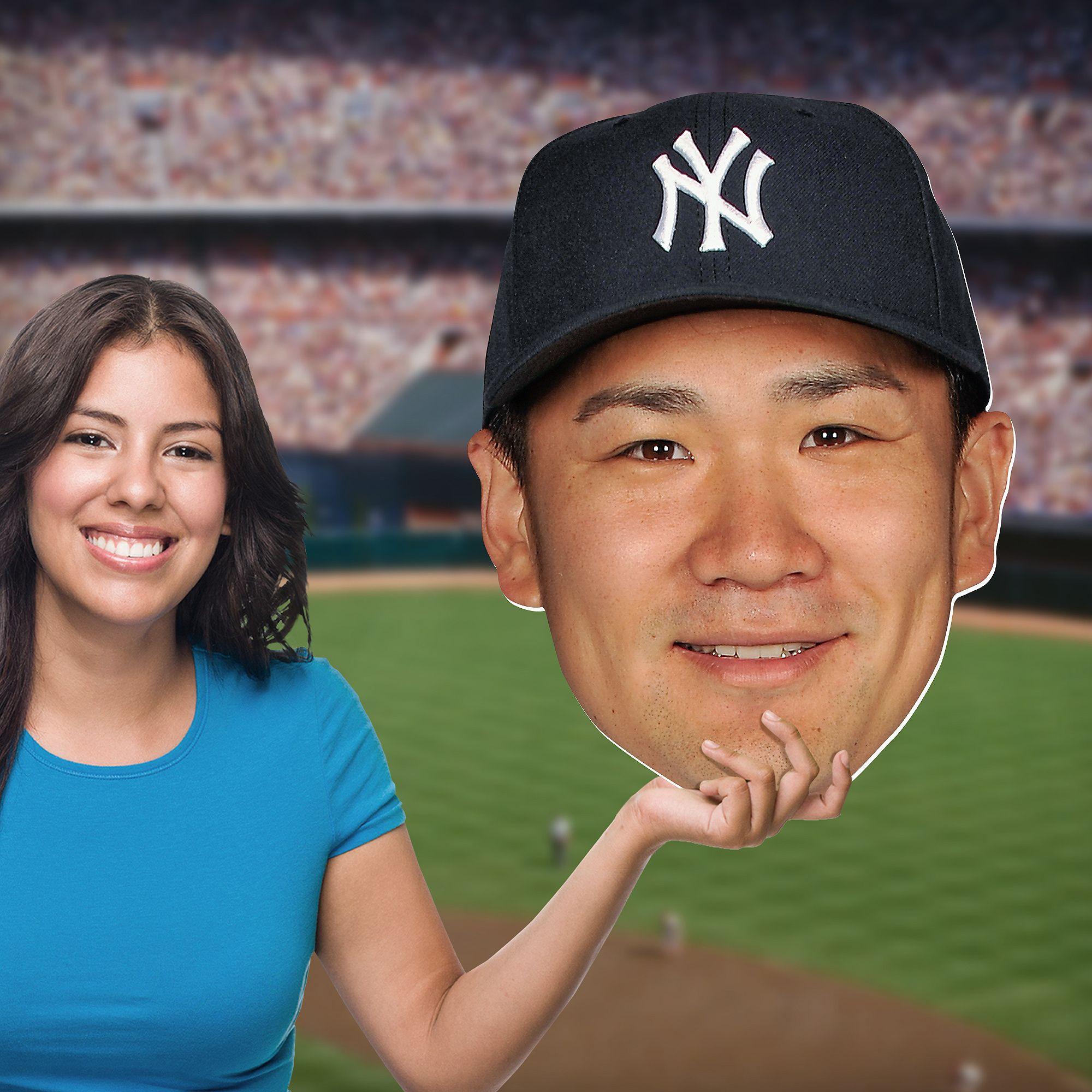 New York Yankees Bedroom Decor Masahiro Tanaka Big Head New York Yankees Baseball Diy Bedroom