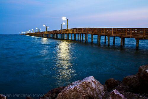 Sylvan Beach Pier La Porte Tx