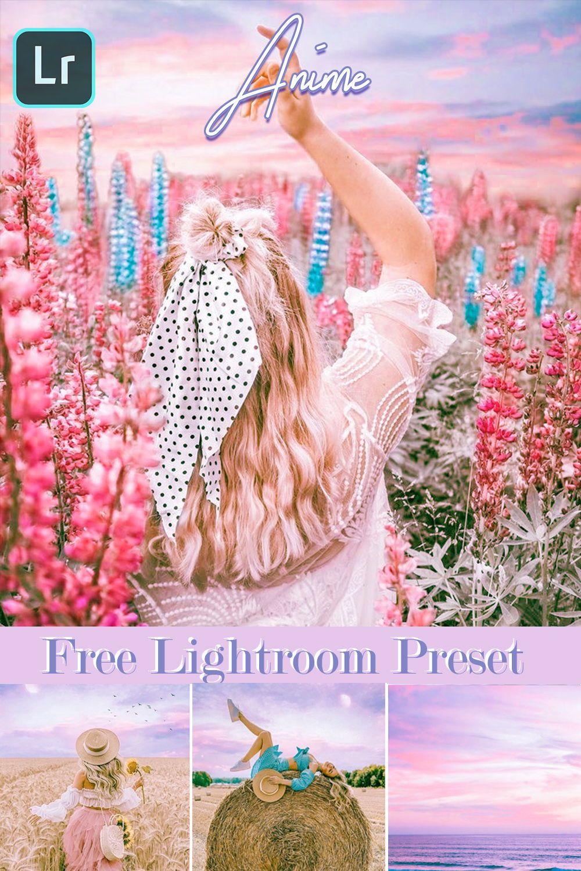 Anime Preset Lightroom Dng Free Download