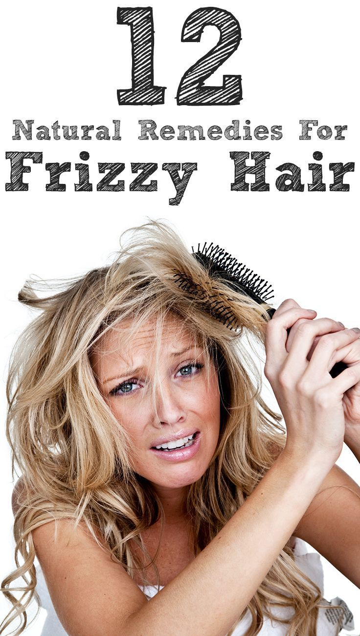 14 Natural Remedies To Get Rid Of Frizzy Hair Frizzy