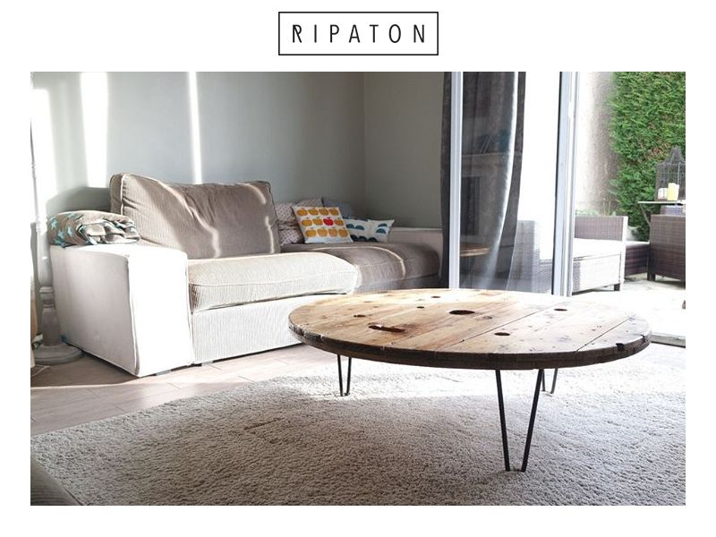 Atelier Ripaton Hairpin Legs Création De Notre Client