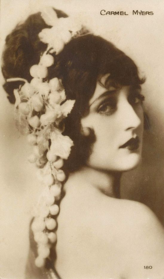 Carmel Myers (silent film actress) portrait for/by