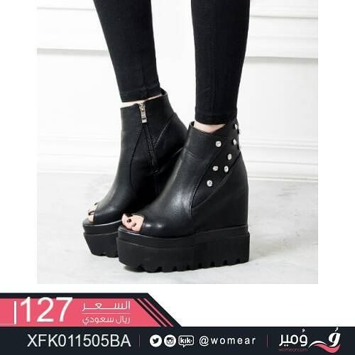 موديلات رائعة لأشيك صبايا احذية نسائية شوزات جزم جزمات عصرية كاجوال جزمة مودرن Biker Boot Boots Fashion