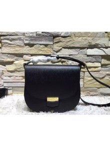 Celine Trotteur Bag In Black Leather Calfskin Fall-2015  8f6fef22034d7