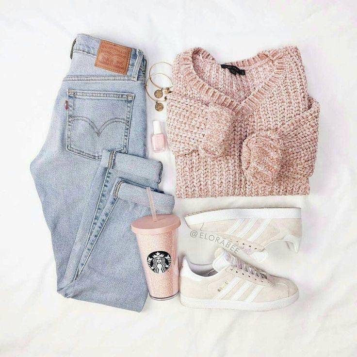 Photo of C O Z Y ist ein Wort #Mode #Ausstattung #Frauen #Oootd #Kleidung #Jeans