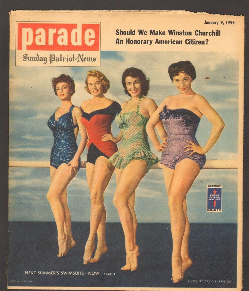 Sunday Patriot News Parade Magazine January 1955 Next Summer