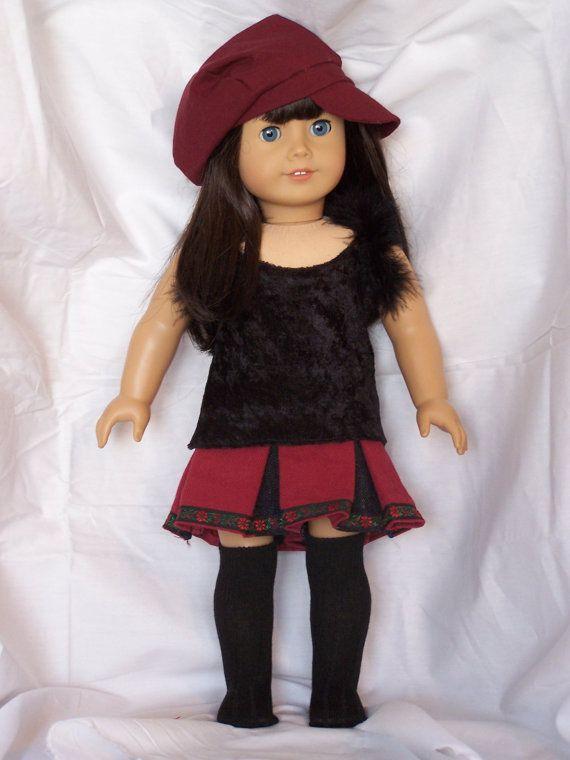 18 Inch American Girl Doll ClothesThree by AuntBeesDollCloset, $18.00