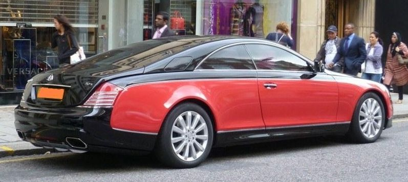 Special Cars Maybach 57s Coupe By Xenatec