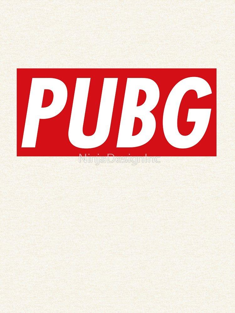 Camiseta esencial 'PUBG - PUBG' de NinjaDesignInc