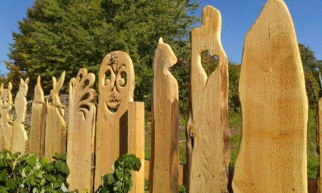 Holz zaun gartendeko holz - Holzzaun garten ...