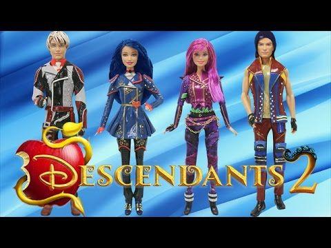 Descendants 2 Toys Lol Surprise Dolls Series 2 Custom