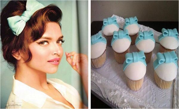 Genius Creativity: Catch #CupCakes That Look Like Bollywood Beauty #DeepikaPadukone​   & all the photos here ->  More Pics Here : http://goo.gl/523ysY
