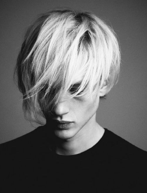 Paul Boche photographed by Michael Epps  MINIMALISM  Pinterest  백발, 얼굴 및 ...