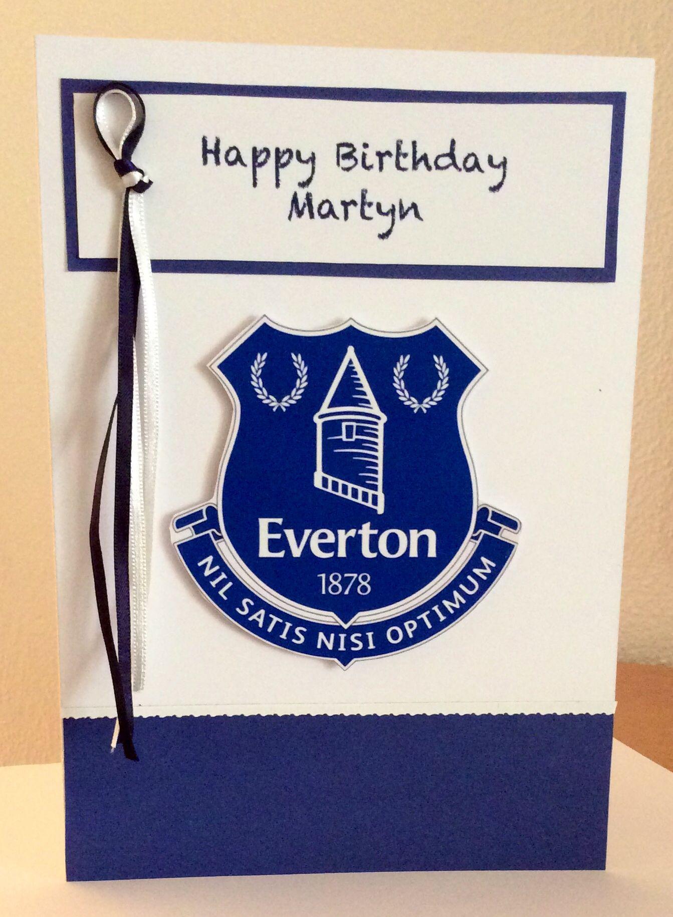 Everton Fan Eliza Emm Birthday Cards Happy Birthday Birthday