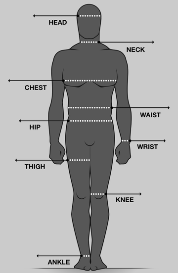 Comprehensive body measurement guide for me  How take take clothing