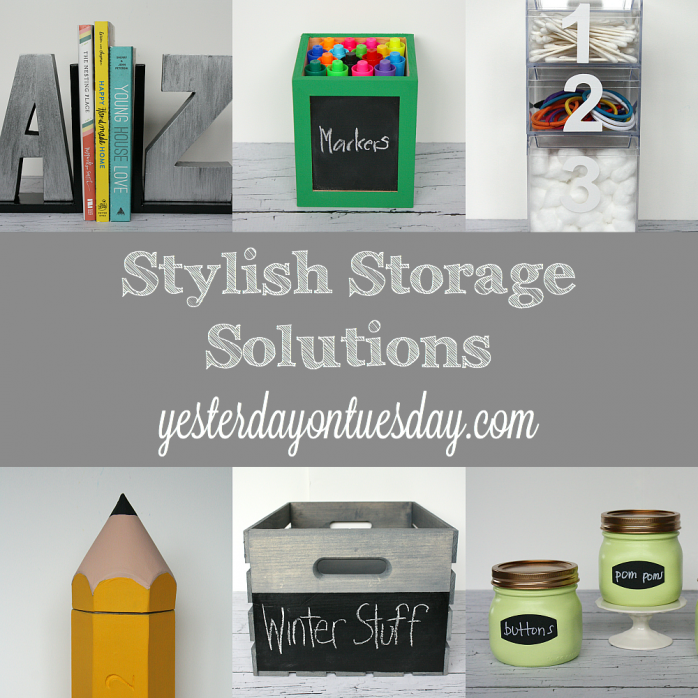 Beau Great Organizing Ideas And Stylish Storage Solutions For Your Desk, Craft  Supplies, Kids And