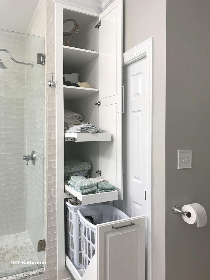 Great Diy Bathroom Towel Storage Ideas 1 Small Bathroom Remodel Bathrooms Remodel Bathroom Remodel Master