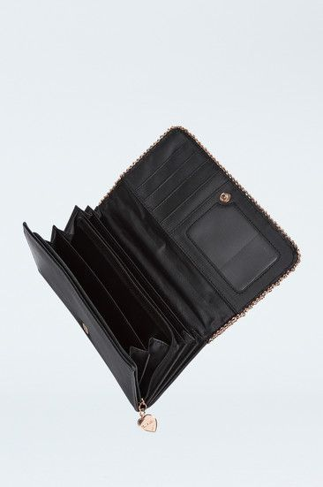 Black Chain Padded Purse #TALLYWEiJL #new #collection