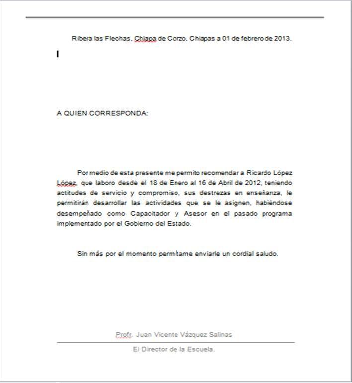 Cartas De Recomendacion Personal Buscar Con Google Word Template Cover Letter Template Templates Printable Free