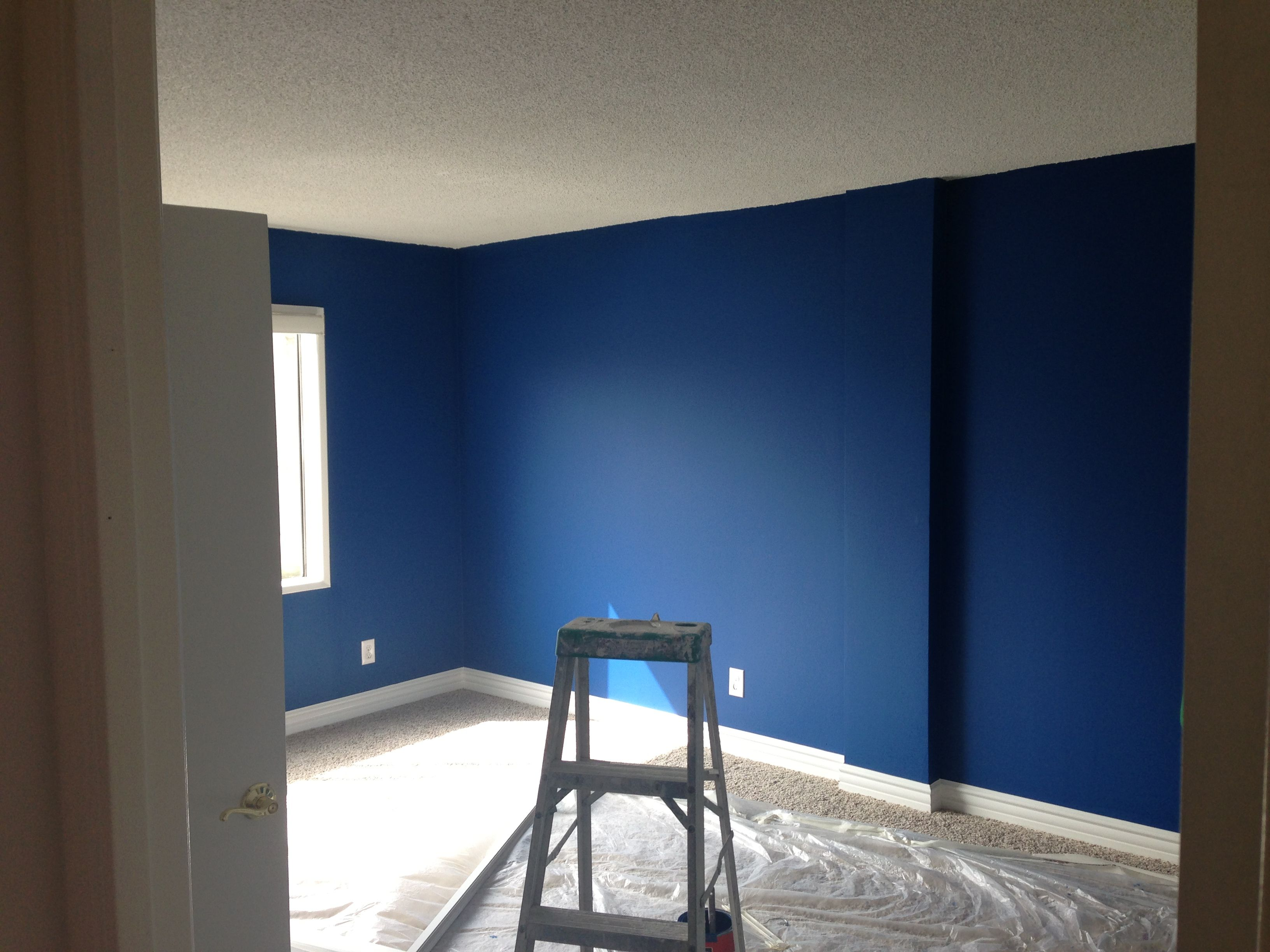 Our New Bedroom Behr Paint In Royal Breeze It Dries
