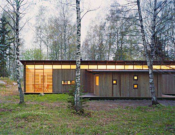 Summer Cabin Design Award Winning Wood House By Wrb Summer House Design Small Summer House Cabin Design