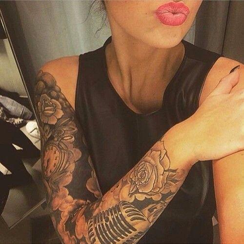 Pinterest: Nuggwifee☽ ☼☾ | i n k | Tattoos, Dope tattoos ...