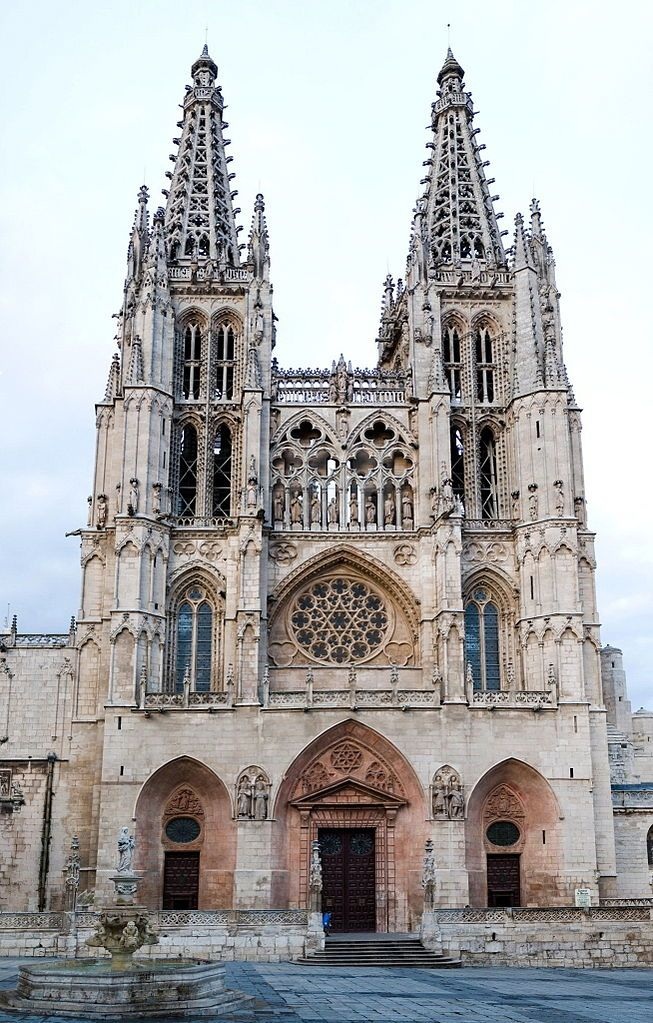 Cathedral of Saint Mary of Burgos Catedral de Santa María de Burgos (Spanish) One of the great Cathedrals and the third biggest in Spain, on the Camino