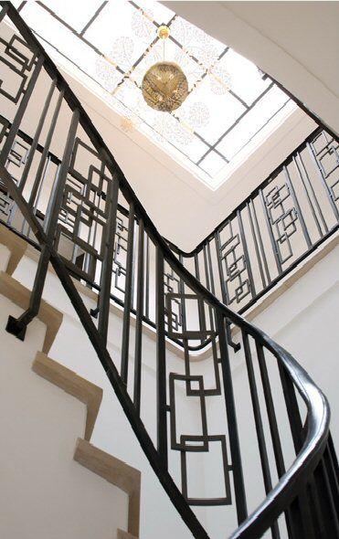 Geometric Stairs Geometric Staircase Melbourne: Geometric Stair Railing.