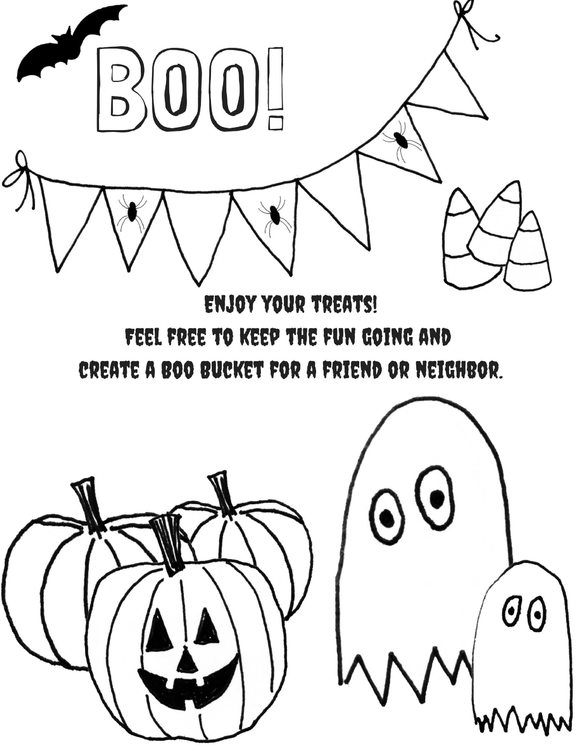 You Ve Been Booed Boo Buckets Tags And Inspiration Halloween You Ve Been Booed Halloween Printables Free Halloween Tags