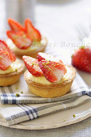 tartelettes citron fraise