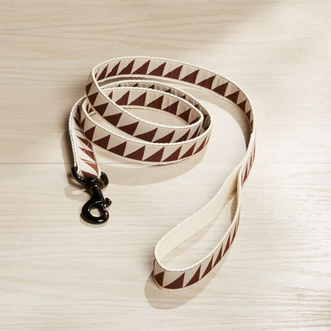 "Nice Grill 1"" Caramel Brown Leash 
