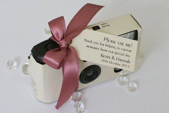 Set Of 10 Personalised Wedding Cameras By Littlegemsweddings 52 99 Disposable Camera Wedding Wedding Camera Disposable Camera